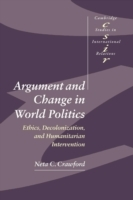 Argument and Change in World Politics