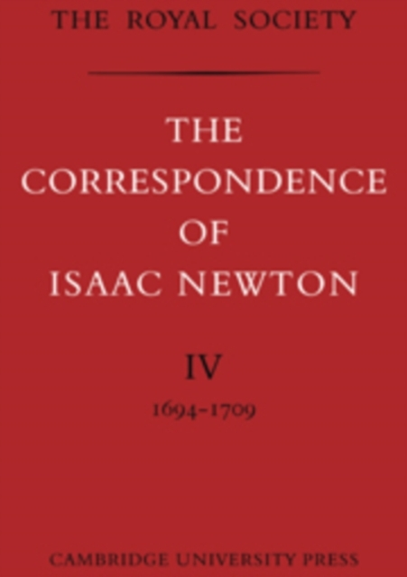 The The Correspondence of Isaac Newton 7