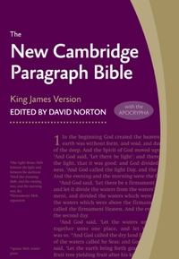 New Cambridge Paragraph Bible with Apocr