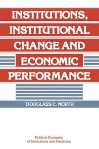 Political Economy of Institutions and De