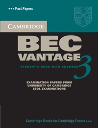 Cambridge BEC Vantage 3 Student's Book w