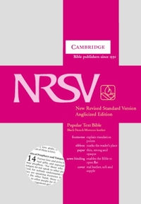 NRSV Popular Text Bible with Apocrypha,