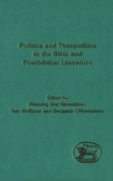 Politics and Theopolitics in the Bible a