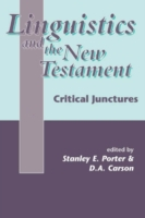 Linguistics and the New Testament