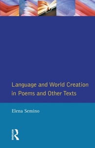 Language and World Creation in Poems and