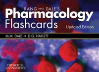 Rang & Dale's Pharmacology Flash Cards U