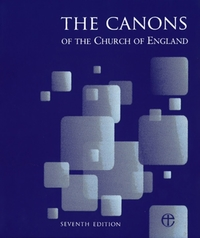 Canons of the Church of England 7 with 2