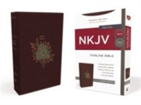 NKJV, Thinline Bible, Leathersoft, Burgu