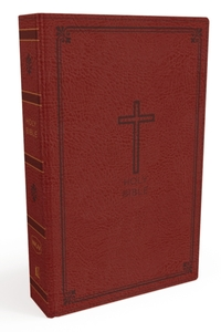 NKJV, Thinline Bible, Leathersoft, Red,