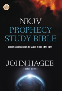 NKJV, Prophecy Study Bible, Hardcover, R