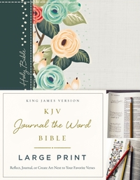 KJV, Journal the Word Bible, Large Print