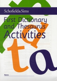 First Dictionary and Thesaurus Activitie