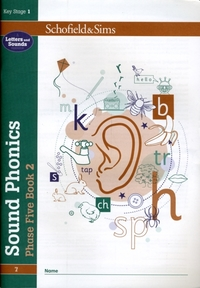 Sound Phonics Phase Five Book 2: KS1, Ag