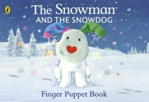 The Snowman and the Snowdog Finger Puppe