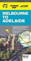 Melbourne to Adelaide Map 345 2nd ed