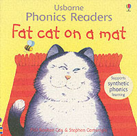 Fat Cat On A Mat Phonics Reader