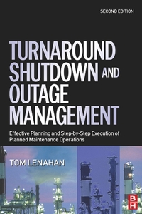 Turnaround, Shutdown and Outage Manageme