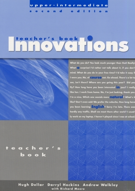 Innovations Upper-Intermediate: Teacher'
