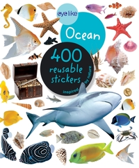 Eyelike Ocean - 400 Reusable Stickers In