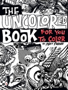Uncolored Book for You to Color