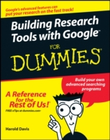 Building Research Tools with Google For