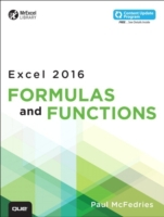 Excel 2016 Formulas and Functions (inclu