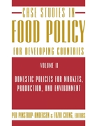 Case Studies in Food Policy for Developi