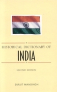 Historical Dictionary of India