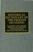 Historical Dictionary of the Friends (Qu