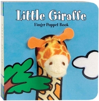 Little Giraffe Finger Puppet Book