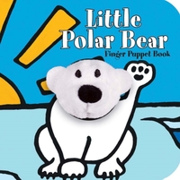 Little Polar Bear Finger Puppet Board Bo