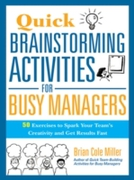 Quick Brainstorming Activities for Busy