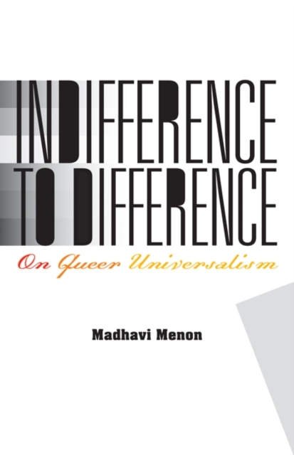 Indifference to Difference