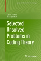 Selected Unsolved Problems in Coding The