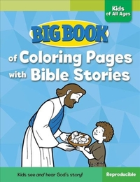 Big Book of Coloring Pages with Bible St