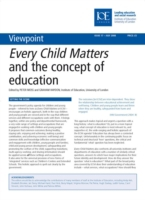 Every Child Matters and the Concept of E