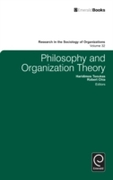 Philosophy and Organization Theory