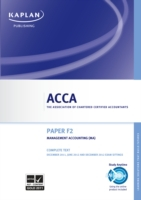 ACCA F2 Management Accounting (MA)