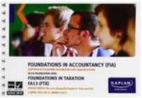 FTX Foundations in Taxation - Pocket Not