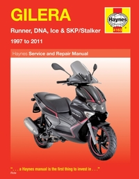 Gilera Runner, Dna, Ice & Skp/Stalker ('