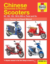 Chinese, Taiwanese & Korean Scooters Upd