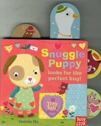 Tiny Tabs: Snuggle Puppy looks for the p