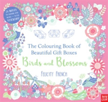 Gift Boxes to Colour and Make: Birds and