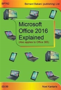 Microsoft Office 2016 Explained