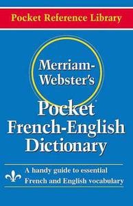 Merriam Webster Pocket French-English Di