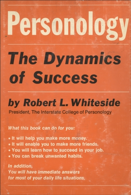 Personology: The Dynamics of Success