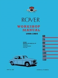 Rover P4 Workshop Manual 1950-1964