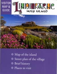 Lindisfarne Holy Island Visitor map and