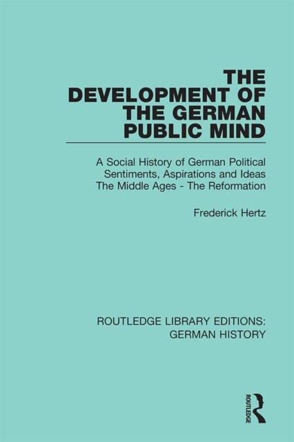 Development of the German Public Mind