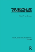 Syntax of Coordination